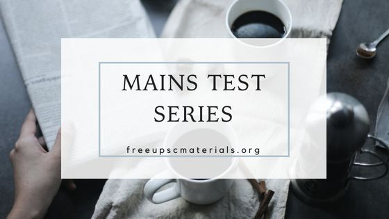 IAS Baba Mains 2018 C2C Test 9 - Upsc Materials
